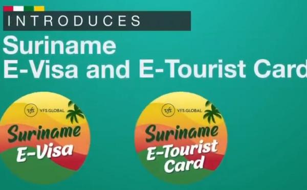 Suriname : carte touristique et visa disponibles en ligne