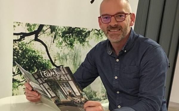 Cédric Lemagnent nommé nouveau directeur d'Eure Tourisme