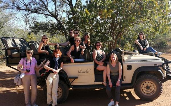 Huit agents de voyages en Afrique du Sud avec Austral Lagons