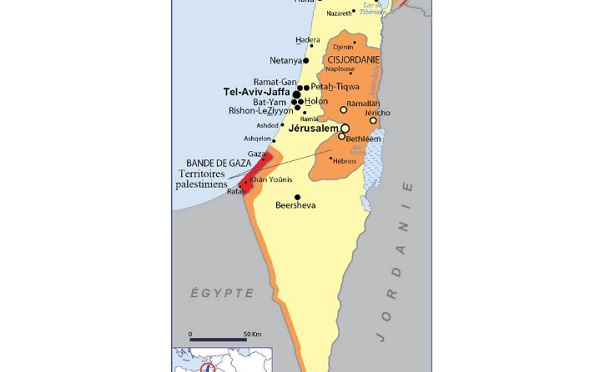 Israël-Palestine : tensions aux abords de la bande de Gaza