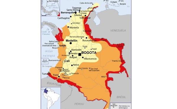 Colombie : le Quai d'Orsay déconseille la fréquentation de Cerro Azul