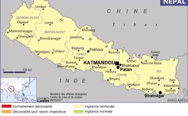 Népal : explosion d'engins artisanaux dans la vallée de Katmandou