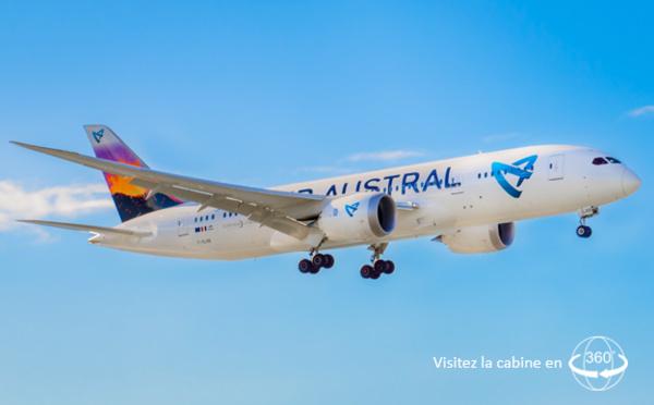 Air Austral cloue au sol un de ses Boeing 787-8