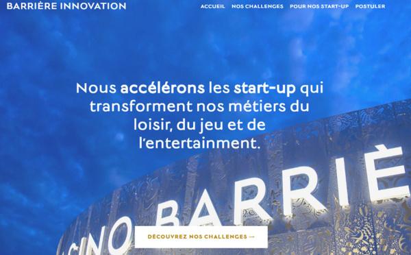 Barrière lance un accélérateur de start-up