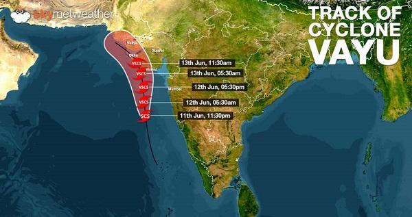 Cyclone Vayu : les autorités indiennes demandent aux touristes de quitter Gujarat