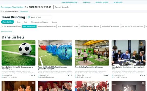 Activités de loisirs : Funbooker lance une offre de team building