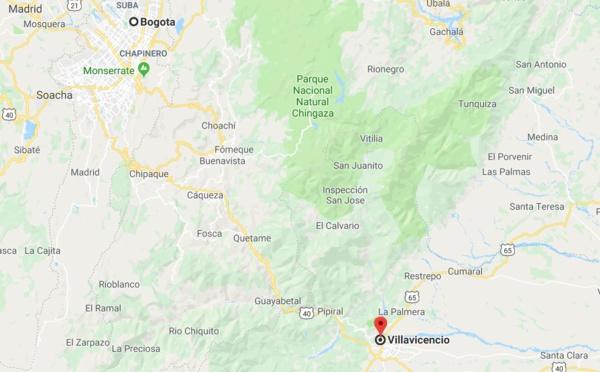 Colombie : route coupée entre Bogota et Villavicencio