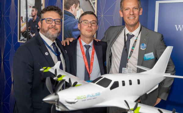 """Aérien : EcoPulse, avion électrique... des projets plus """"durables"""" dans les cartons"""