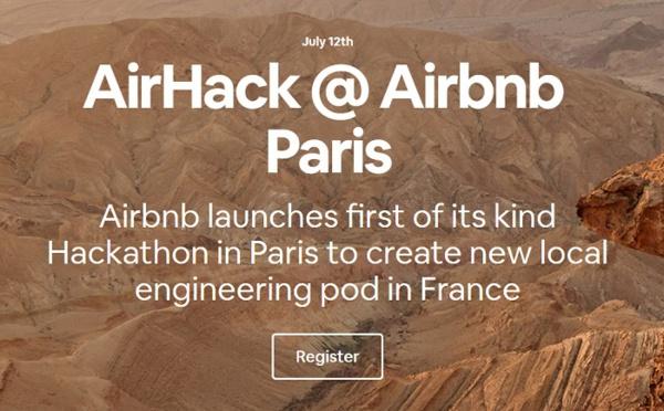 Hackathon Paris : Airbnb recrute 5 développeurs en France