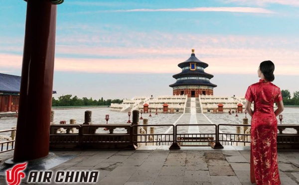 Air China : nouvelle ligne entre Pékin et Nice Côte d'Azur
