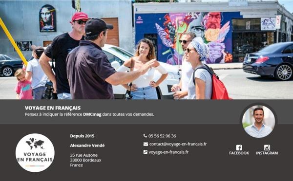 Voyage en français débarque sur DMCMag.com