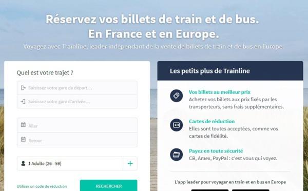 Trainline signe avec le transporteur suisse CFF