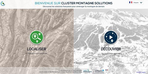Cluster Montagne : création d'un site pour cartographier l'innovation