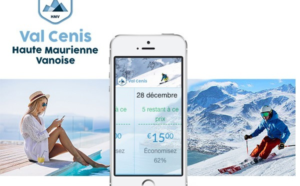 Val Cenis propose la 1ère tarification dynamique sur les forfaits de ski