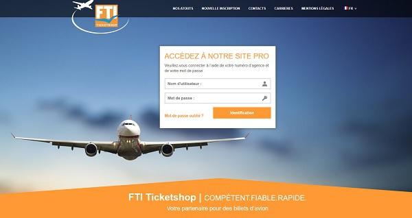 FTI Ticketshop change de numéro de téléphone pour le service technique