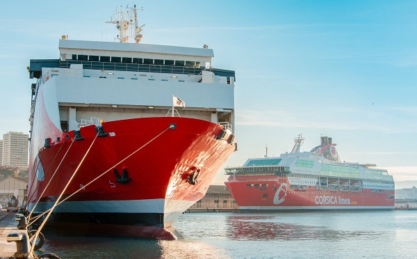 Corsica Linea attend son 1er navire au GNL pour 2022