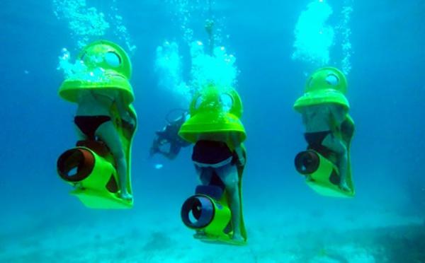 Cancun : J'ai testé pour vous Hydro Bob, le scooter sous-marin