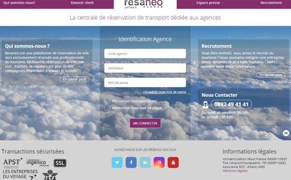 Voyage d'affaires : Resaneo va lancer une marque blanche pour les clients pro des agences