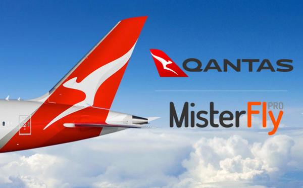 MisterFly intègre tous les contenus Qantas en Private Channel