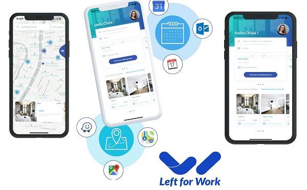 Left for Work : la start-up qui fait matcher les voyages avec les hébergements