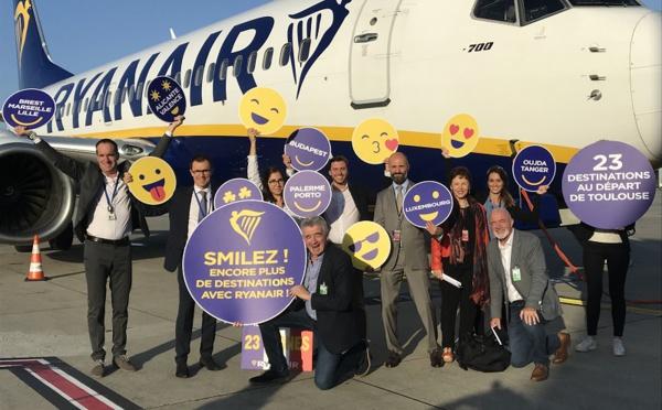 Ryanair ouvre sa base à Toulouse