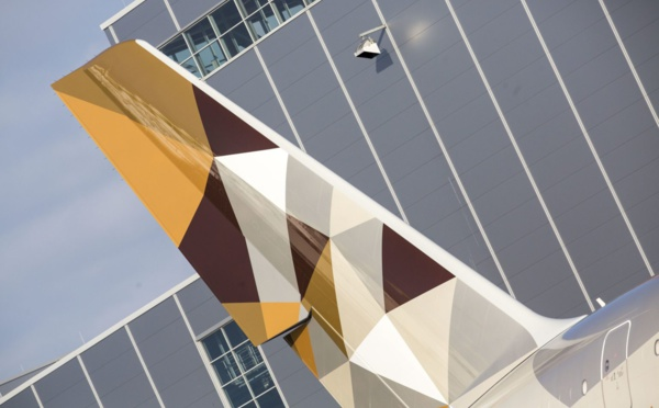 Quand Etihad range ses A350-1000 neufs… au hangar