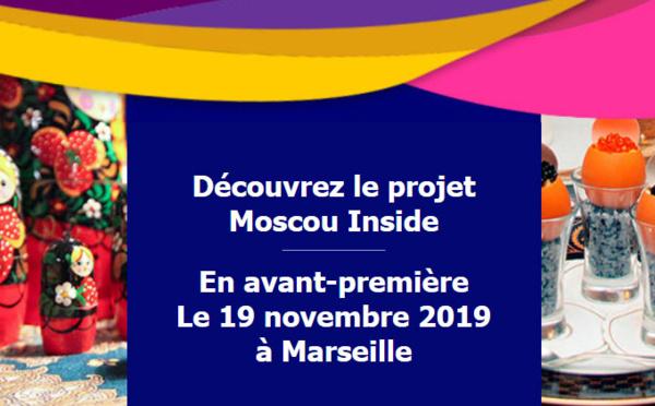 Moscou Inside en avant-première à Marseille pour les 30 ans de KMP !