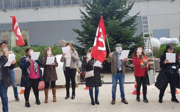 PSE Egencia : une trentaine de salariés mobilisés à Marseille et une cinquantaine à Paris (Vidéo)