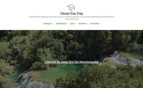 Choisi Ton Trip, une nouvelle plateforme de partage d'expériences