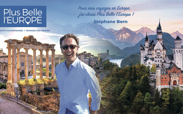 Stéphane Bern et Plus Belle l'Europe sur le petit écran !