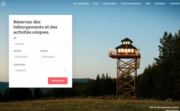 Airbnb : 58 M€ de taxe de séjour versées aux villes françaises