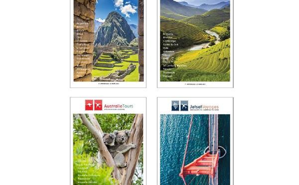 East West Travel : 4 nouvelles brochures pour 3 continents
