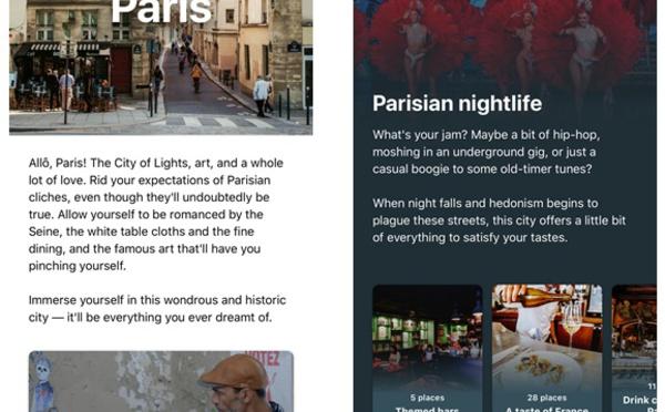 Booking.com lance CityBook, un guide de voyage digital