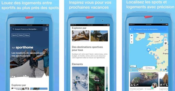 "Sportihome : une nouvelle version de l'application pour ""le plus grand guide des spots multisports"""