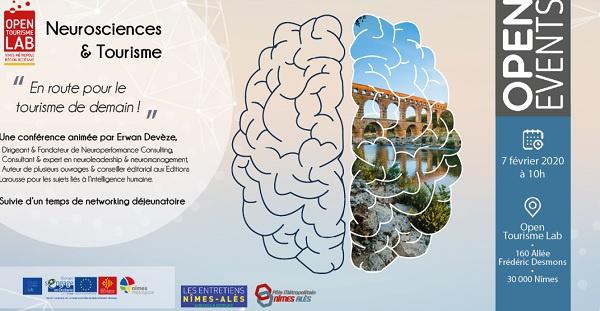 """Nîmes : Open Tourisme Lab organise une conférence """"Neurosciences & Tourisme"""""""