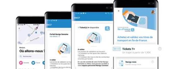 Les Tickets T et forfaits Navigo disponibles sur l'Assistant SNCF