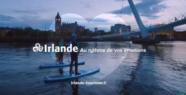 Tourisme Irlandais : une nouvelle campagne digitale pour toucher 45 millions d'internautes (vidéo)