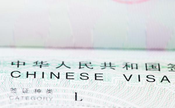 Chine : la validité du visa prolongée
