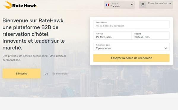 Après une année d'implantation RateHawk se félicite de ses chiffres sur le marché français
