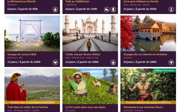 Shanti Travel : le voyage Bruno Maltor est disponible à la vente !