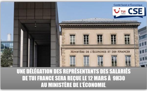 Le CSE de TUI France reçu à Bercy le 12 mars 2020