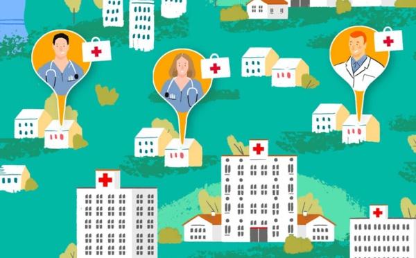 Airbnb met en relation personnels soignants et propriétaires