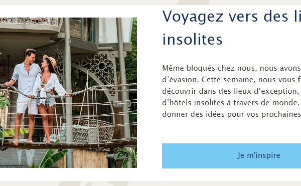 #VoyagezSansBougerAvecTUI : TUI France propose de voyager depuis son... canapé