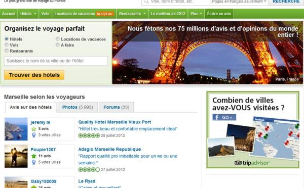 TripAdvisor a un impact direct sur l'économie touristique