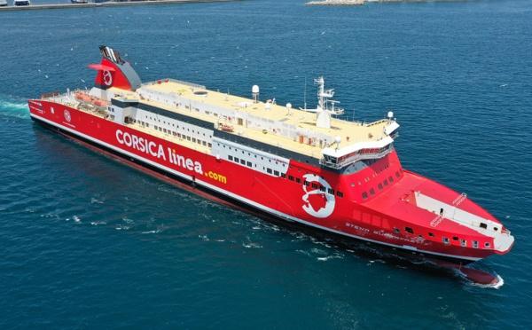 Corsica linea : le navire A Nepita positionné sur la Corse cet été