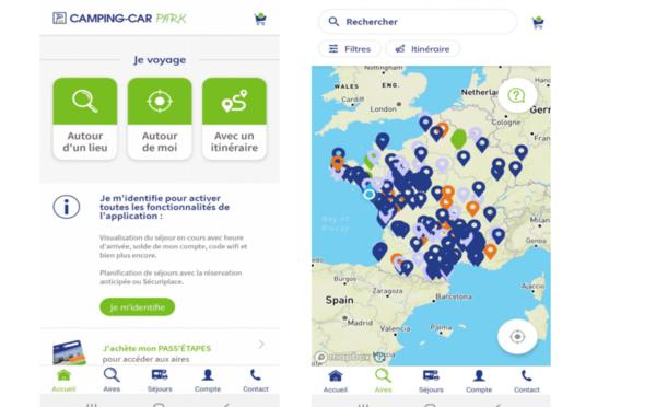 Camping-Car Park : une appli destinée aux 1,8 million de camping-caristes européens