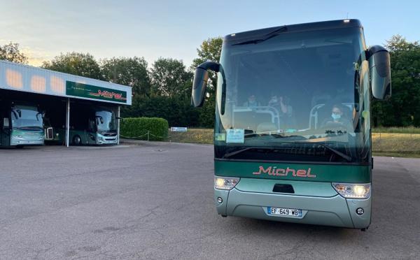 Michel Voyages : après 103 jours d'arrêt, un premier autocar de grand tourisme reprend du service !