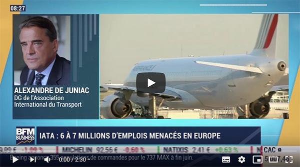 """J.-P. Mas (EdV) : """"Alexandre de Juniac soutient le comportement délictueux des compagnies..."""""""