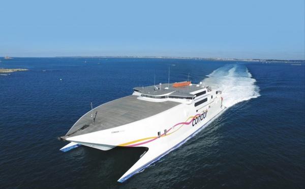 Condor Ferries reprend ses rotations Jersey - Saint-Malo