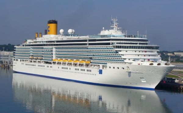 Costa remet le Deliziosa à flot au départ de Trieste